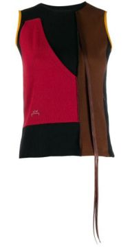 Sleeveless Colour-blocked Top - A-cold-wall*