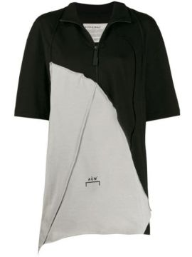 Oversized Zip-up T-shirt - A-cold-wall*