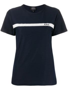 Logo Embroidered T-shirt - A.p.c.