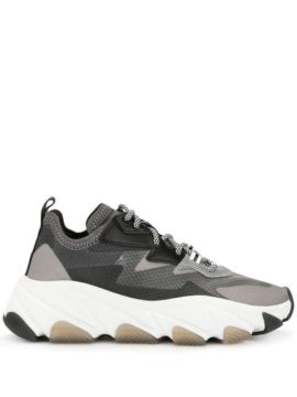 Eclipse Panel Chunky Sneakers - Ash