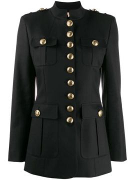 Button-up Military Jacket - Michael Kors Collection