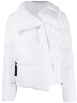 Feather Down Puffer Jacket - Bacon