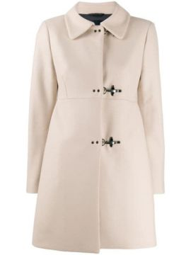 Fitted Clasp Coat - Fay