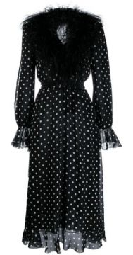 Polka Dot Print Dress - Alessandra Rich