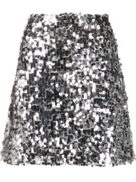 A-line Sequin Skirt - Be Blumarine