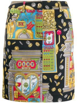 Slot Machine Skirt - Moschino