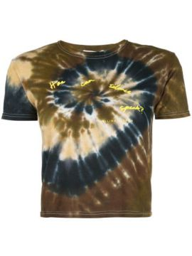 Cropped Tie Dye T-shirt - Collina Strada