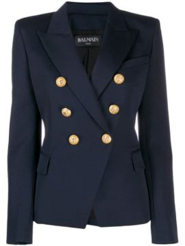 Decorative Buttons Blazer - Balmain