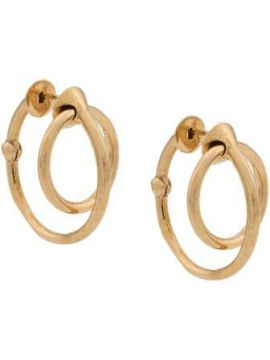 Twisted Hoop Earrings - Alan Crocetti