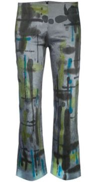Cropped Tie Dye Trousers - Collina Strada