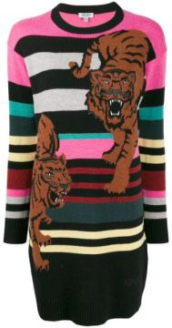 Double Tiger Jumper Dress - Kenzo