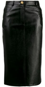 Slim-fit Pencil Skirt - Boutique Moschino