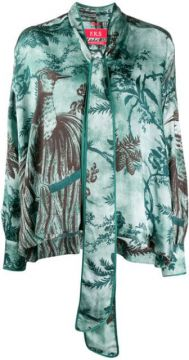 Alethia Printed Blouse - F.r.s For Restless Sleepers