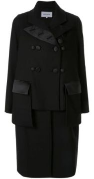 Deconstructed Double Breasted Coat - Dice Kayek