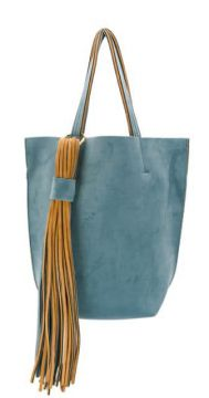 Fringed Detail Tote Bag - Alila