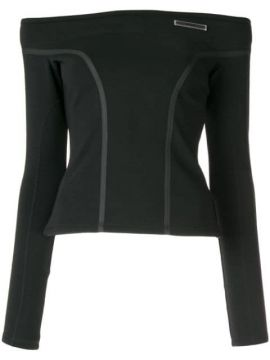 Off The Shoulder Taped Blouse - Christian Dada