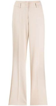 Creased Straight Leg Trousers - Cambio