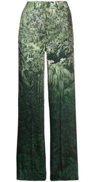 Printed Palazzo Trousers - F.r.s For Restless Sleepers