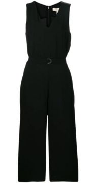 V-neck Wide Leg Jumpsuit - Michael Michael Kors