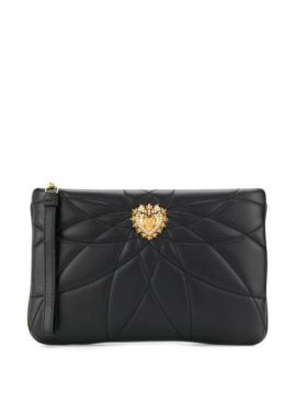 Quilted Devotion Clutch - Dolce & Gabbana