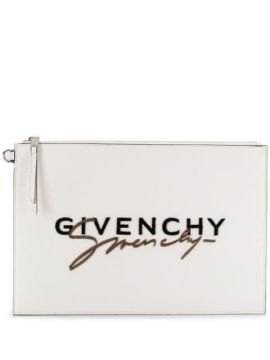 Embroidered Logo Clutch - Givenchy