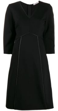 Piped Trim Dress - Dorothee Schumacher