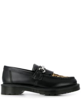 Leopard Toe Loafers - Dr. Martens