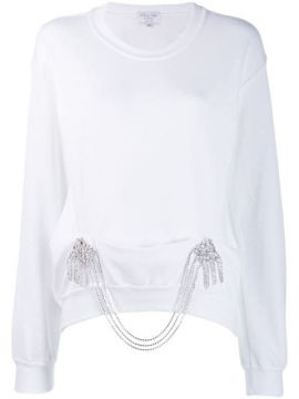 Crystal-embellished Sweatshirt - Collina Strada