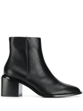 Ankle Boot De Couro - Clergerie