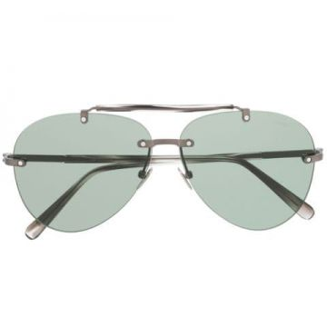 Tinted Aviator Sunglasses - Brioni