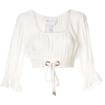 Gathered Crop Top - Alice Mccall