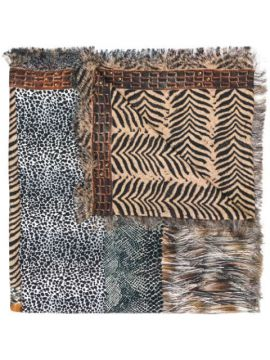 Animal Print Scarf - Pierre-louis Mascia