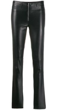 Skinny Leather Trousers - Emporio Armani