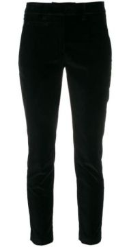 Cropped Slim-fit Trousers - Dondup