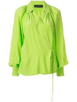Wrap Relaxed Blouse - Anna October
