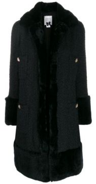 Single-breasted Fitted Coat - Edward Achour Paris