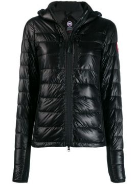 Logo Patch Puffer Jacket - Canada Goose
