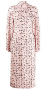 Square Rose Print Dress - Emilia Wickstead