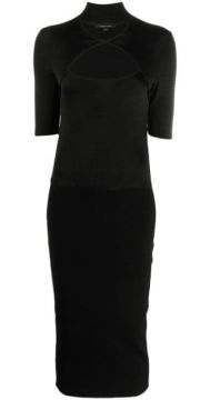 Cut-out Neck Pencil Dress - Cushnie