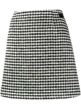 Houndstooth Skirt - Be Blumarine