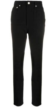 High Waisted Straight Jeans - Helmut Lang