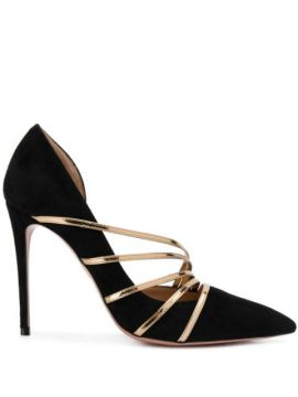 Minou 100mm Strappy Pumps - Aquazzura