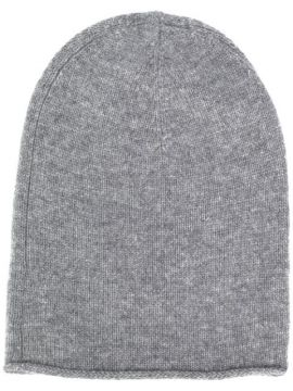 Chunky Knit Beanie Hat - Allude
