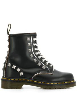 Studded Lace-up Boots - Dr. Martens