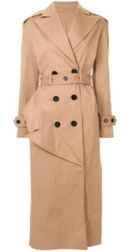 Belted Trench Coat - Ruban