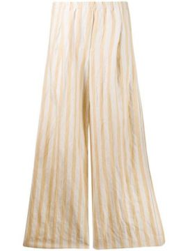 Ruched Striped Pants - Forte Forte
