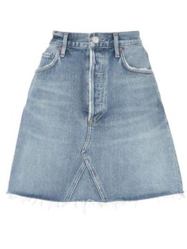 Fitted Mini Skirt - Agolde