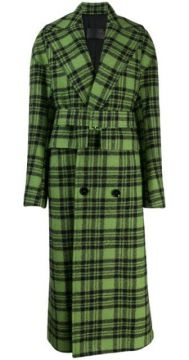 Cela Check Print Coat - Christian Wijnants