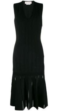 Knitted Cut-out Dress - Alexander Mcqueen