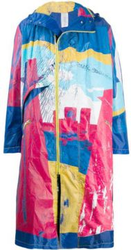 Distressed Look Raincoat - Bethany Williams